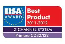 Primare CD32, I32 EISA Award