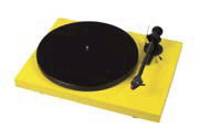 Pro-Ject Debut Carbon yellow
