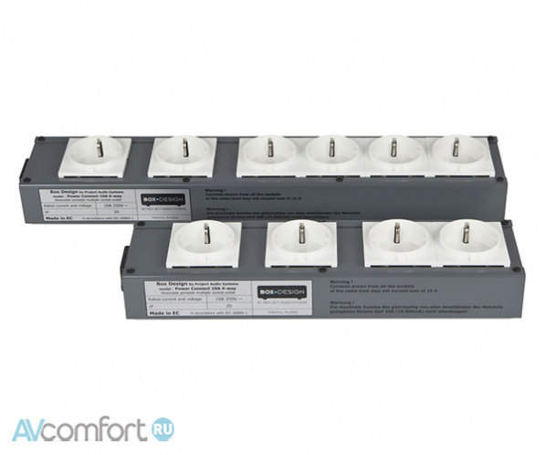 AVComfort, PRO-JECT Connect It Power 4Way 10A