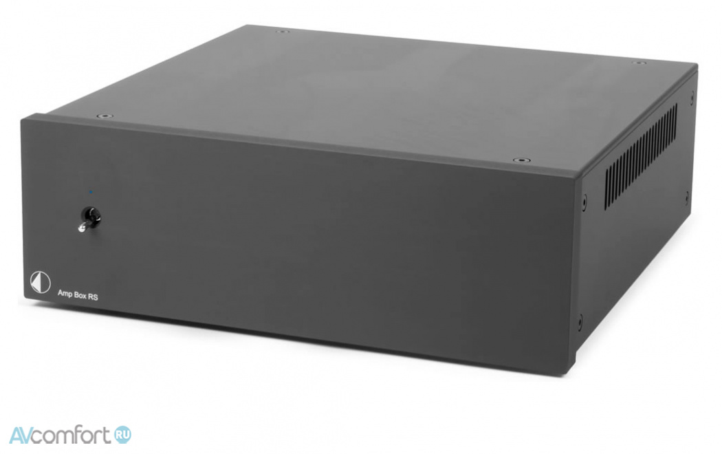 AVComfort, PRO-JECT Amp Box RS Black