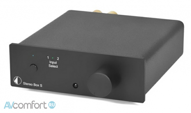 AVComfort, PRO-JECT Stereo Box S Black