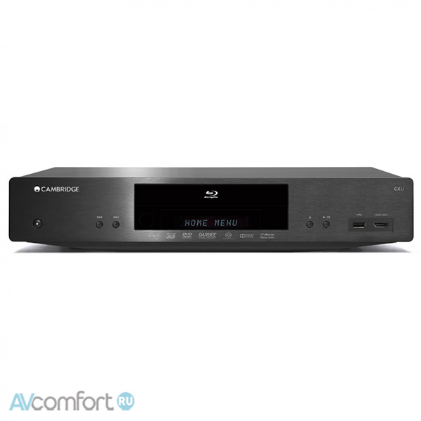 AVComfort, CAMBRIDGE AUDIO CXU Black