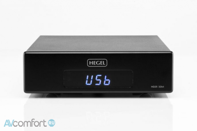 AVComfort, HEGEL HD25 Silver