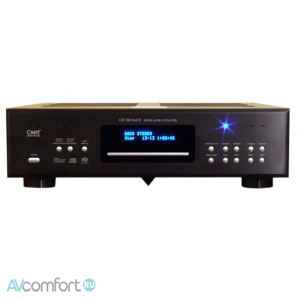AVComfort, CARY AUDIO CD 306 SACD PRO Black