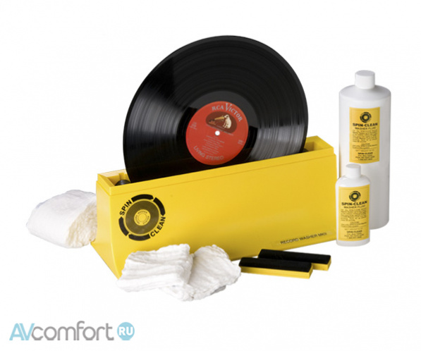 AVComfort, PRO-JECT Spin-Clean Record Washer mkII Package
