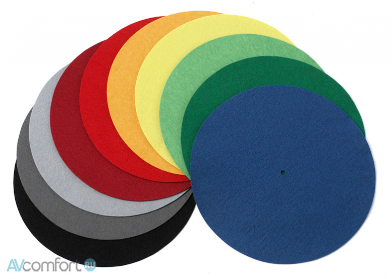 AVComfort, PRO-JECT Felt-Mat various colours for Debut