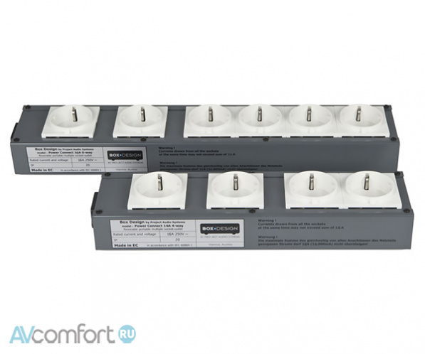 AVComfort, PRO-JECT Connect It Power 6Way 16A