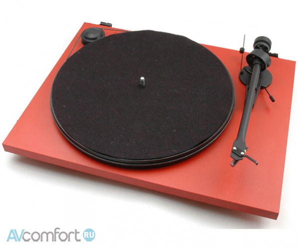 AVComfort, PRO-JECT Essential II Phono USB (OM5e) Matt Red