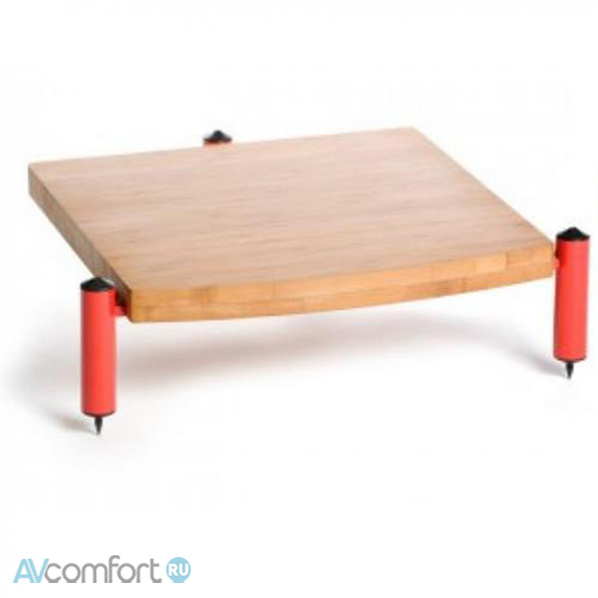 AVComfort, ATACAMA Eris ECO 5.0 Hi-Fi Single Shelf Module 125mm Red