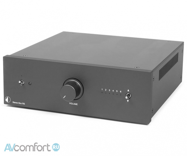 AVComfort, PRO-JECT Stereo Box RS Black