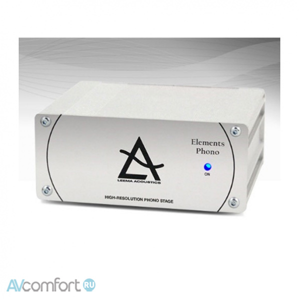 AVComfort, LEEMA ACOUSTICS Elements Phono Stage Silver