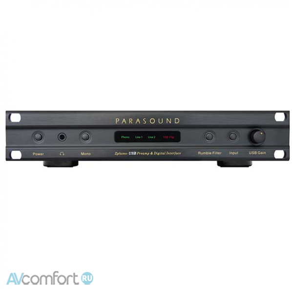 AVComfort, PARASOUND Z-phono-USB Black