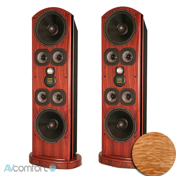 AVComfort, LEGACY Audio Whisper HD Curly maple