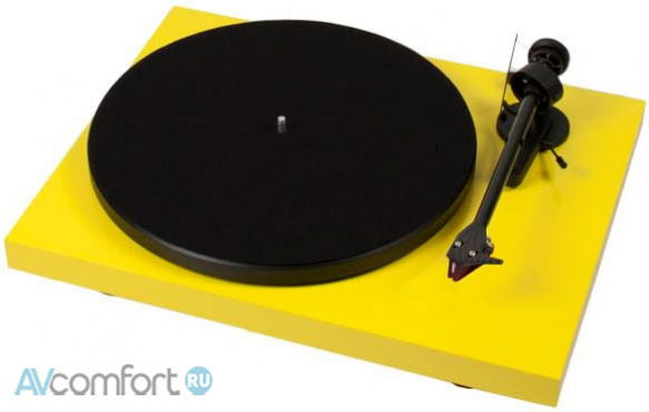 AVComfort, PRO-JECT Debut Carbon Phono USB (OM10) Yellow