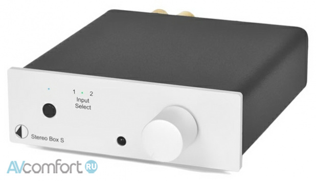 AVComfort, PRO-JECT Stereo Box Silver