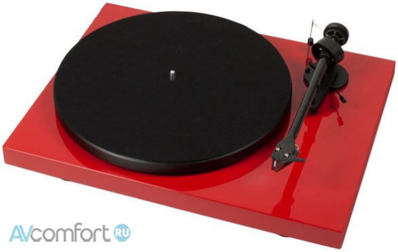 AVComfort, PRO-JECT Debut Carbon Phono USB (OM10) Red
