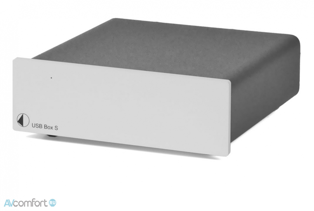 AVComfort, PRO-JECT USB Box S Silver