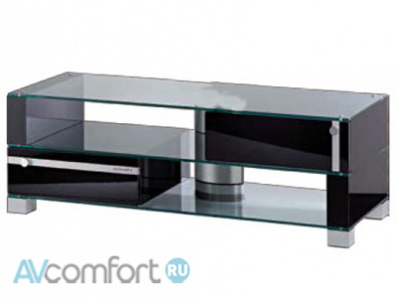 AVComfort, ULTIMATE SX/B desktop black alu/pearl