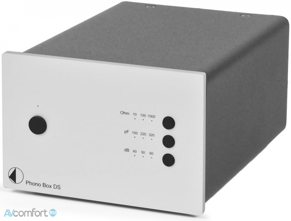 AVComfort, PRO-JECT Phono Box DS Silver