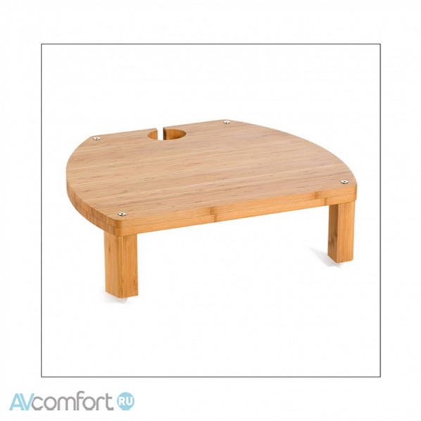 AVComfort, ATACAMA Elite ECO 6.0 Hi-Fi Single Shelf Module 175mm Bamboo Light