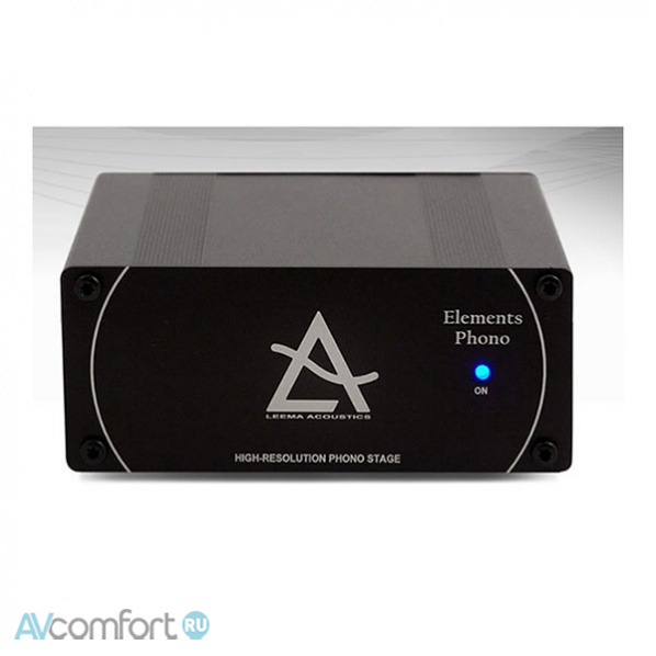 AVComfort, LEEMA ACOUSTICS Elements Phono Stage Black