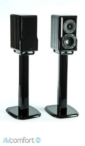 AVComfort, CHARIO K LYNX stand High Gloss Black