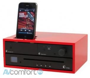 AVComfort, PRO-JECT Design Box Acryl 4 Red