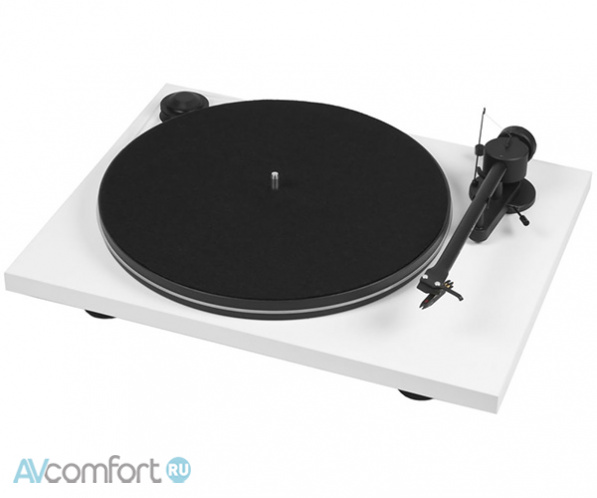 AVComfort, PRO-JECT Essential Phono USB (OM5e) White/Black