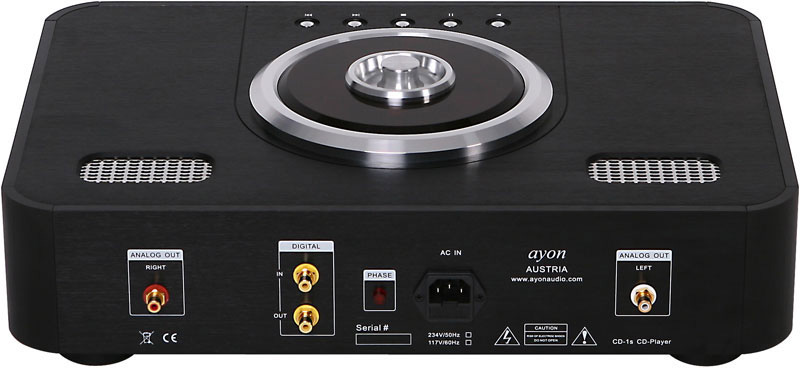 AYON Audio CD 1S rear
