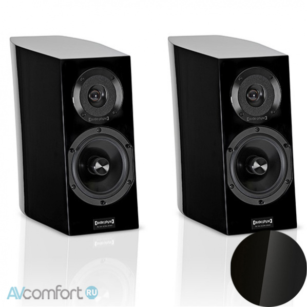 AVComfort, AUDIO PHYSIC Step 25 Black High Gloss