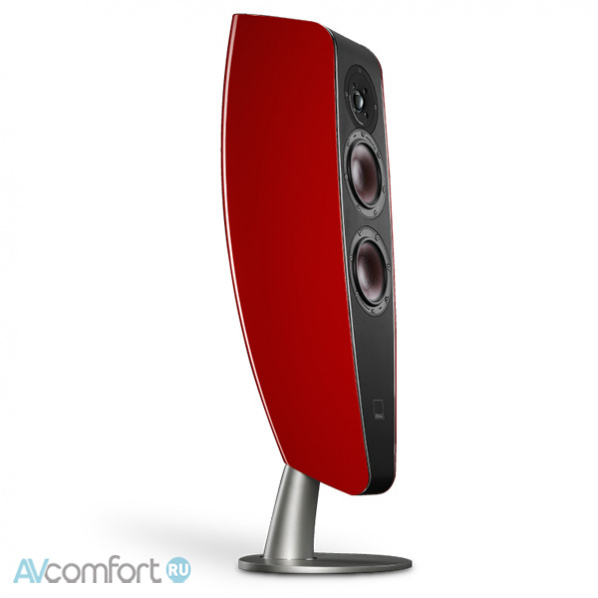 AVComfort, DALI Fazon F5 Red High Gloss Lacquer