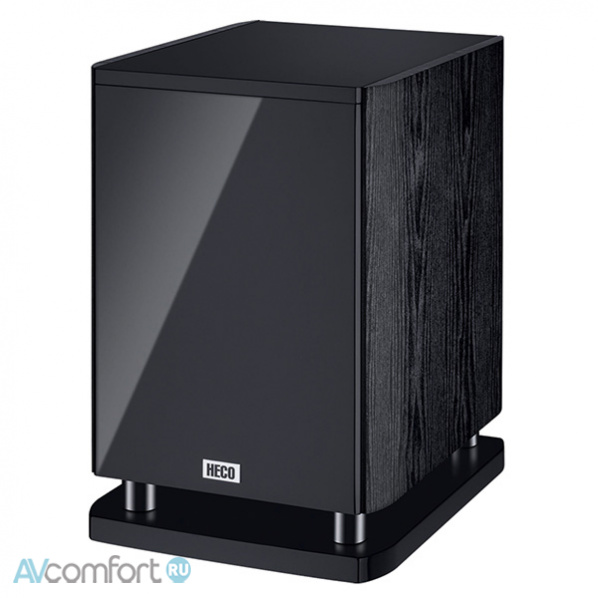 AVComfort, HECO Music Style Sub 25 A Black\Black