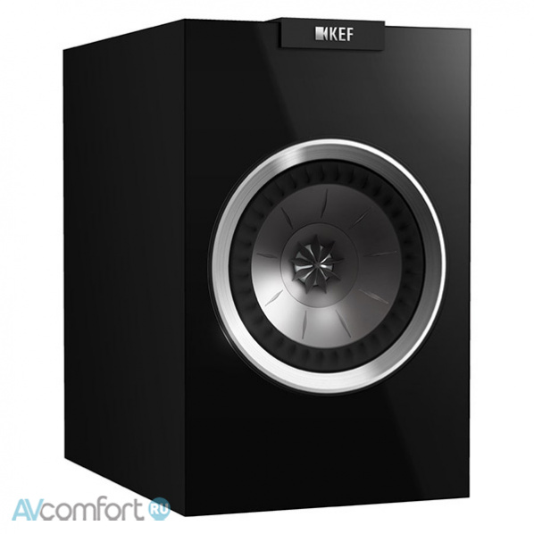 AVComfort, KEF R100 Black gloss